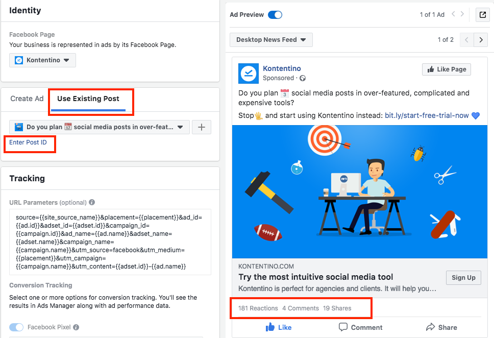 2 Facebook campaign tricks you may have not heard about - Kontentino