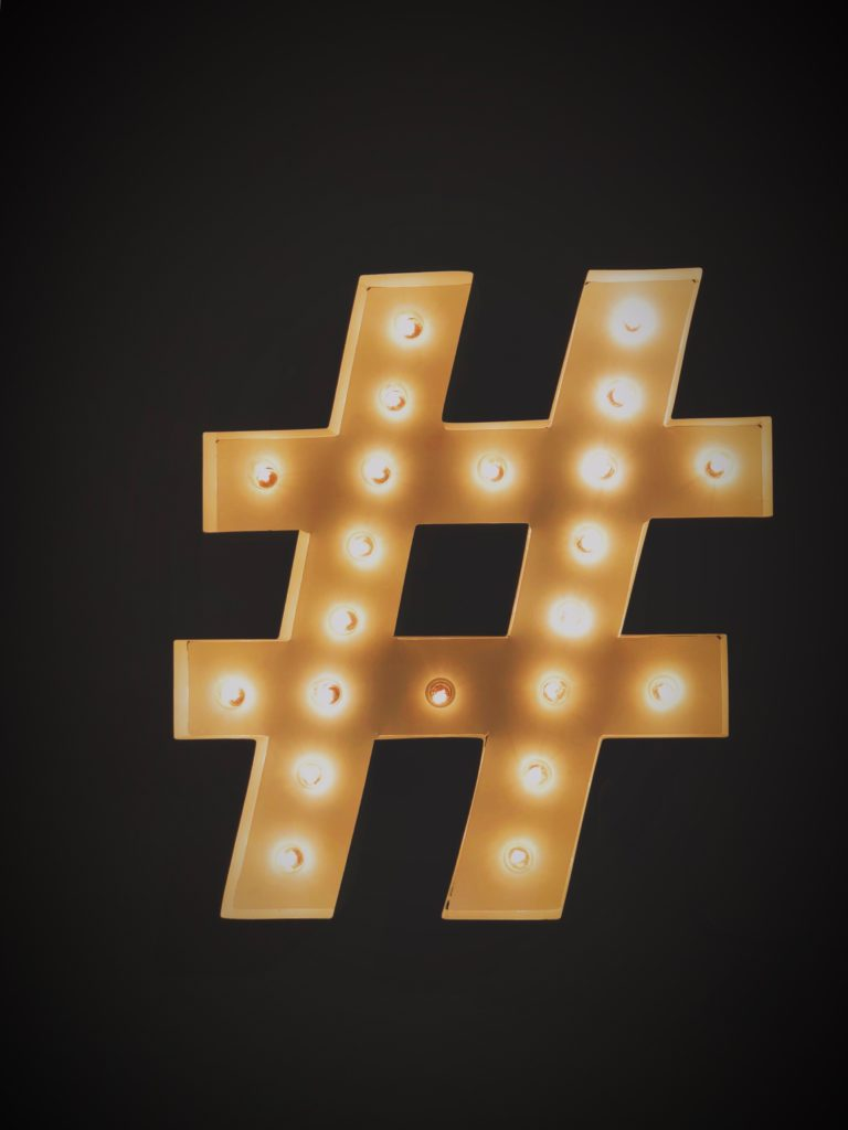 Hashtags help you categorize your content