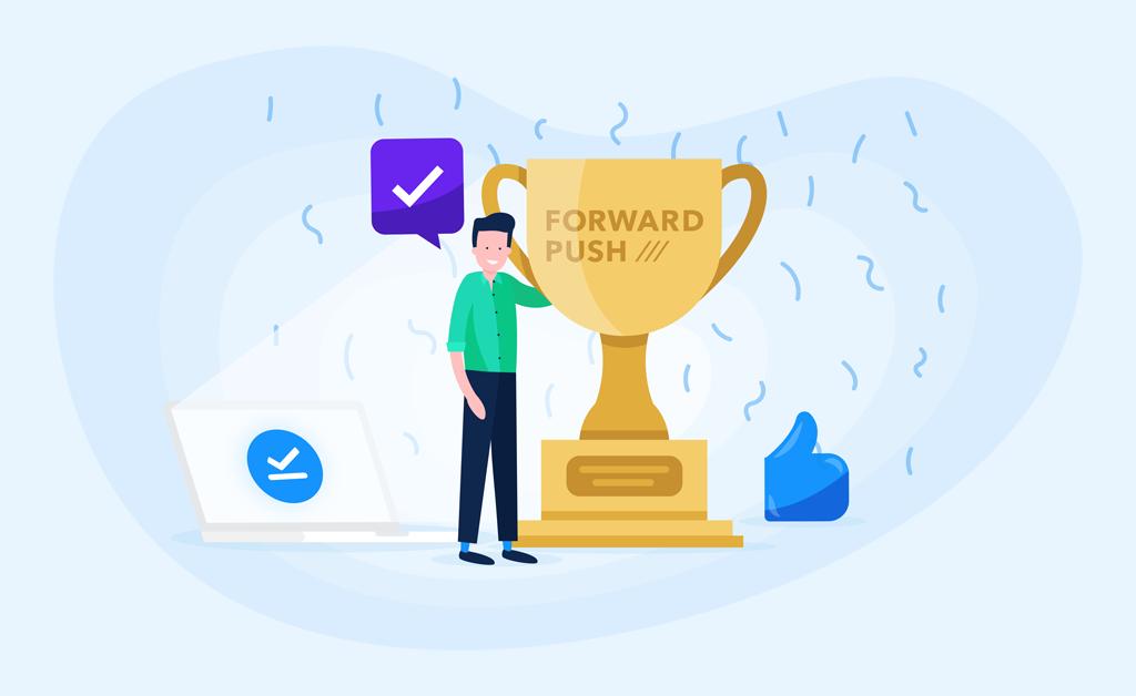 Forward Push created an award winning digital campaign