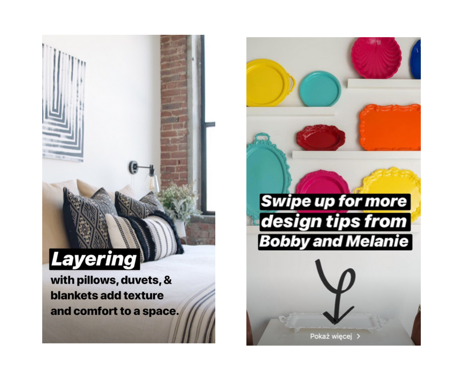Airbnb is a good example of how to use IG stories for business