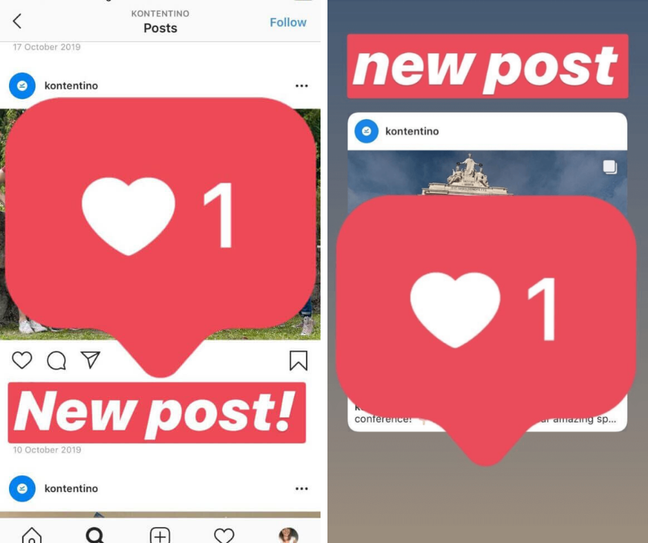 Sharing posts in Instagram stories is a quick social media hack