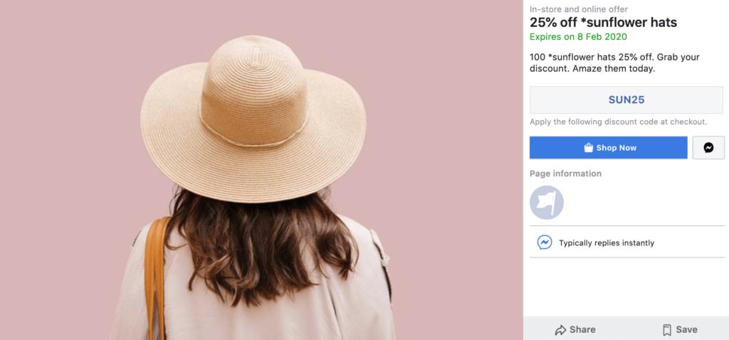 Social media hacks for Facebook offers