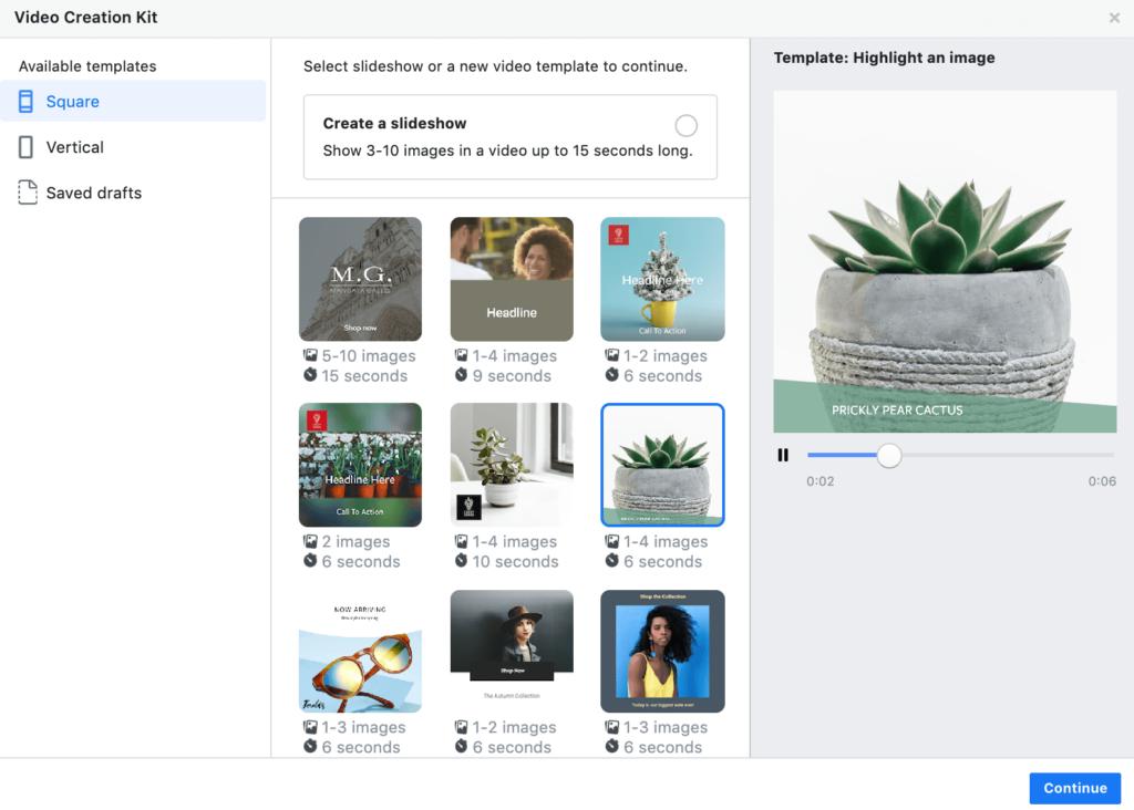 Facebook hacks for creating slideshows
