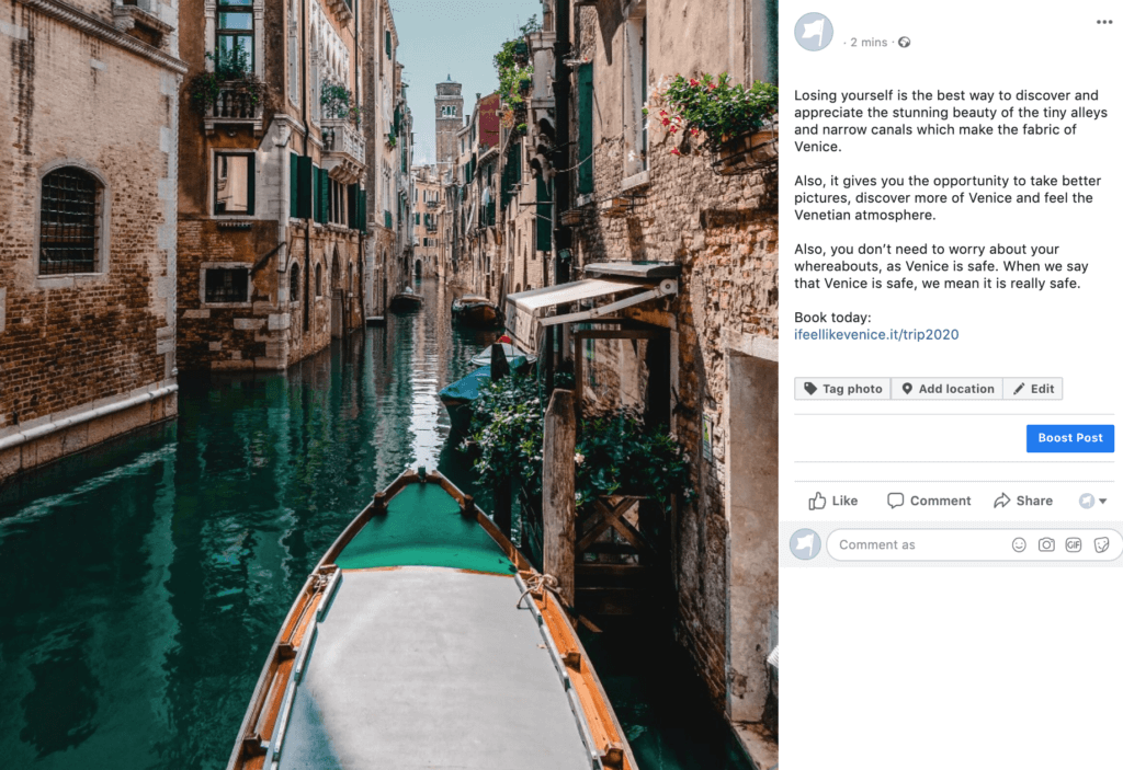 Social media tricks for Facebook photo posts