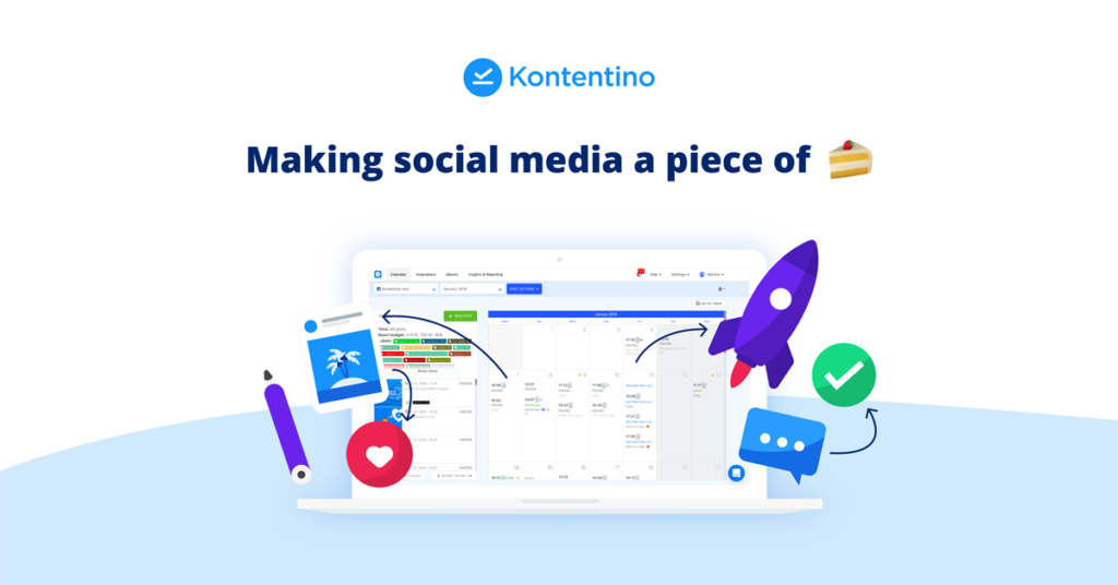 Grow your social media agency with Kontentino