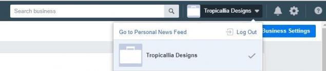 FB Business Manager Addons - Navigation menu
