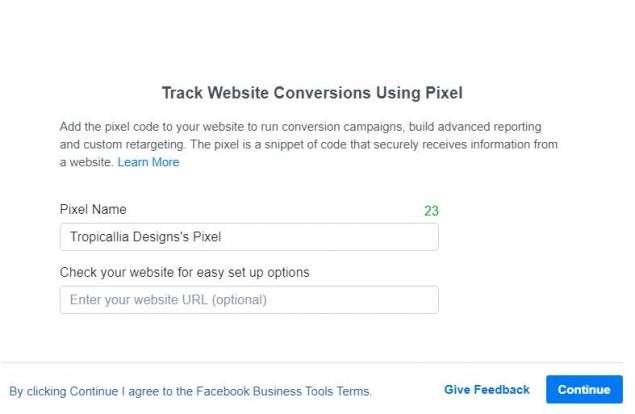 Adding FB Pixel to your website