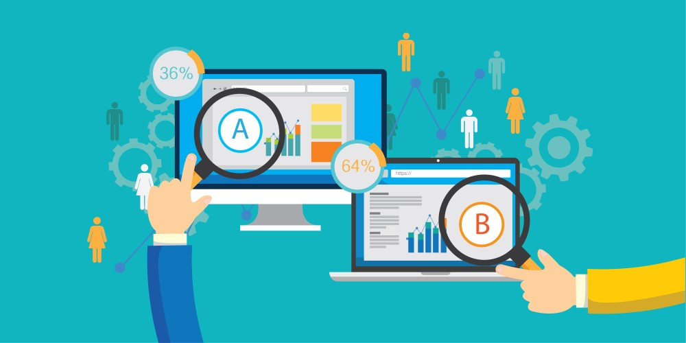 Social media experiments with A/B testing
