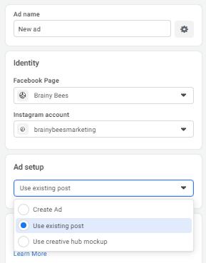 Picking the ad method