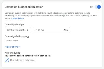 Optimizing your ad budget