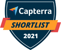 Capterra Shortlist for Social Media Marketing Jan-21